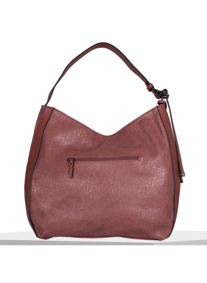 Hobo shoulder bag Heather (dusty pink)
