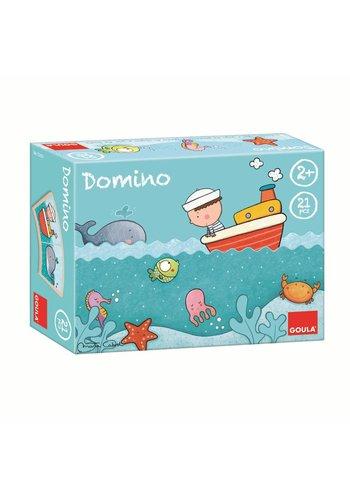 Goula Domino Oscar op Zee