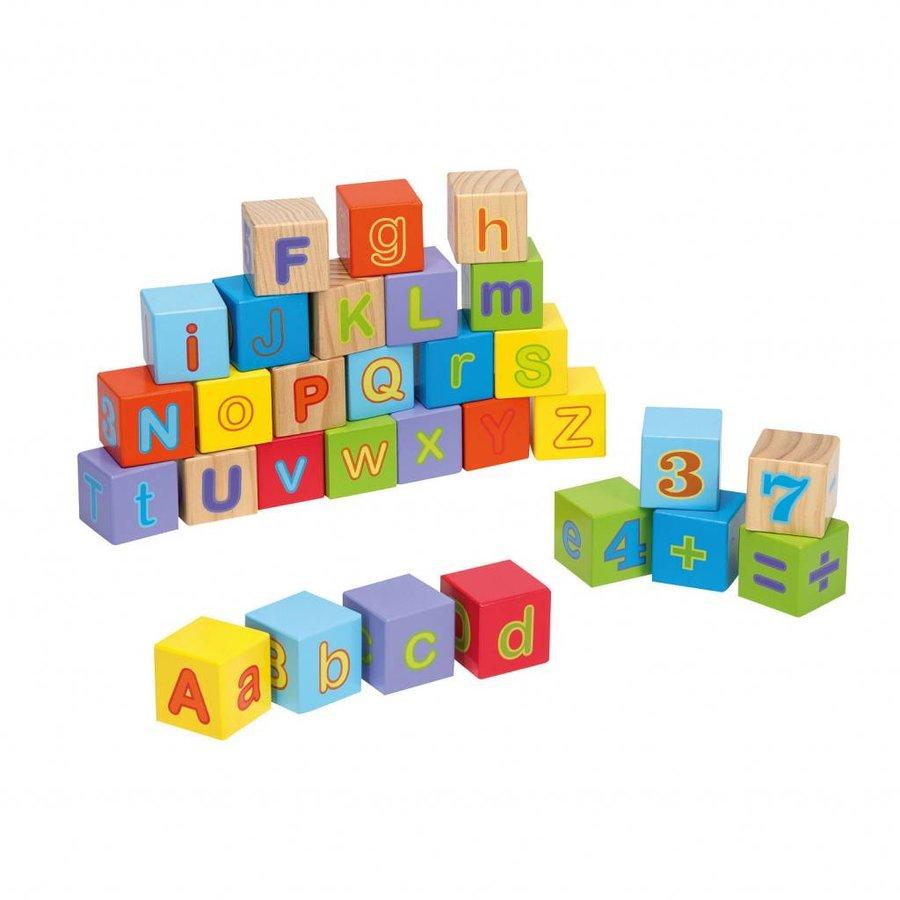 Joueco Alfabet Blokken, 30dlg.-1