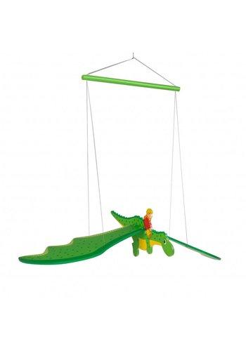 Houten Swingfiguur Draak