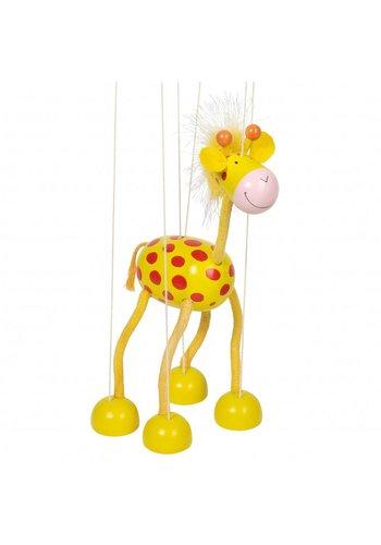 Houten Marionette Giraffe