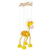 thumb-Houten Marionette Giraffe-2
