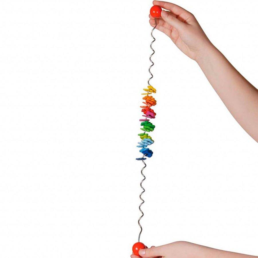 Houten Kleuren Spiraal-1