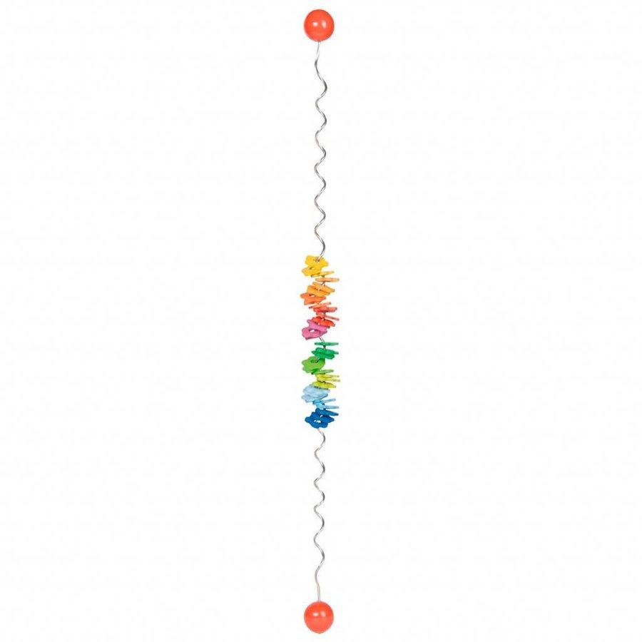 Houten Kleuren Spiraal-2