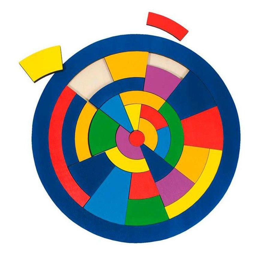 Houten Cirkel Puzzel-1