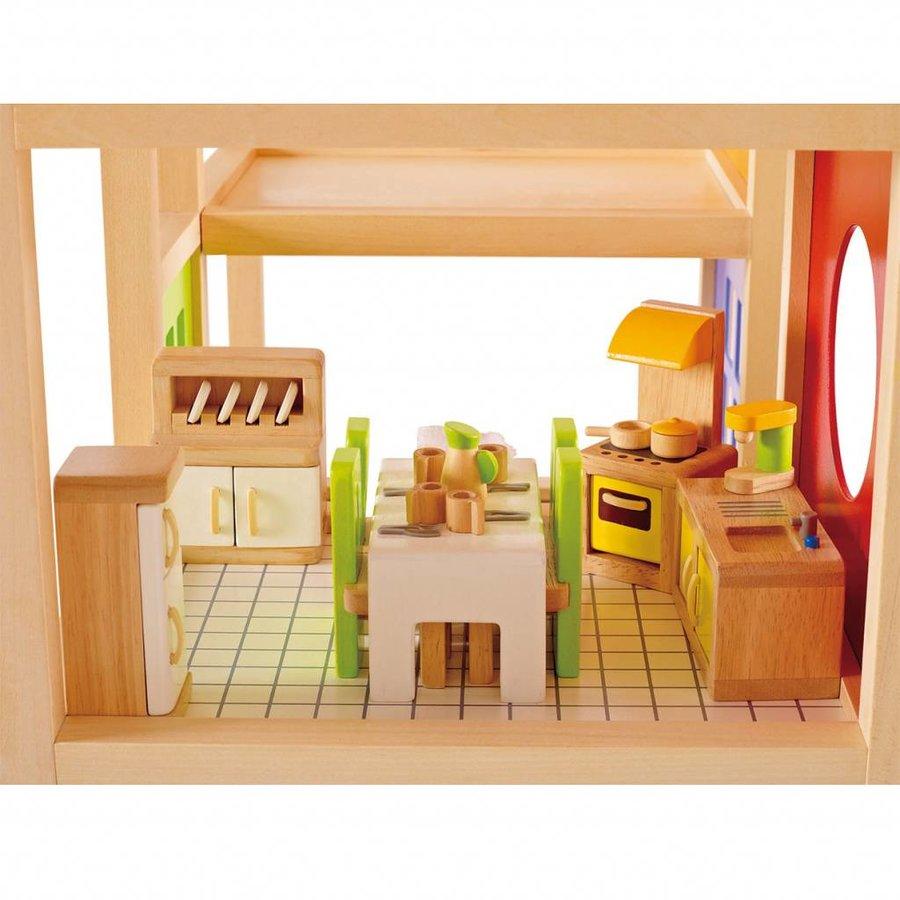 Hape Poppenhuis Keuken-2