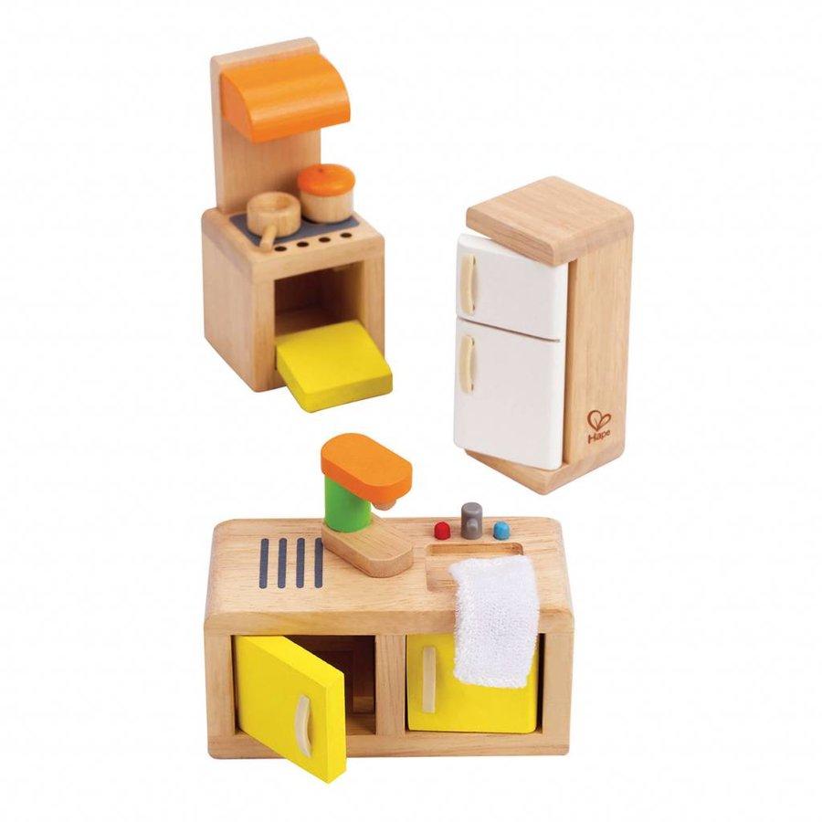 Hape Poppenhuis Keuken-3