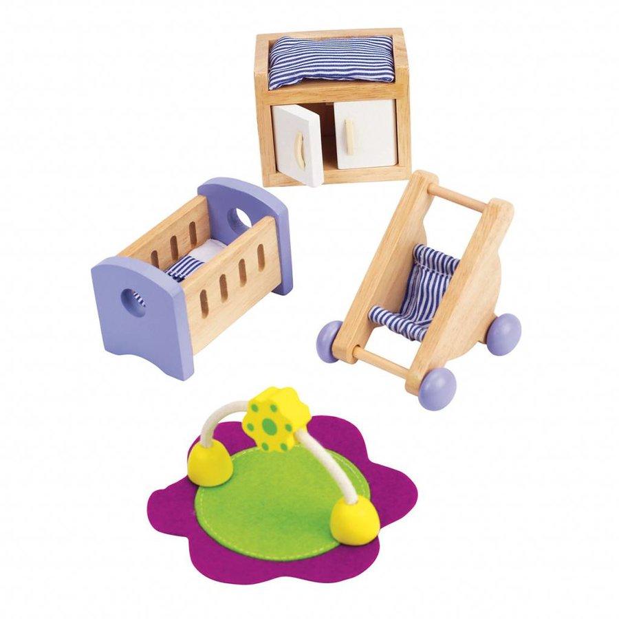 Hape Poppenhuis Babykamer-1