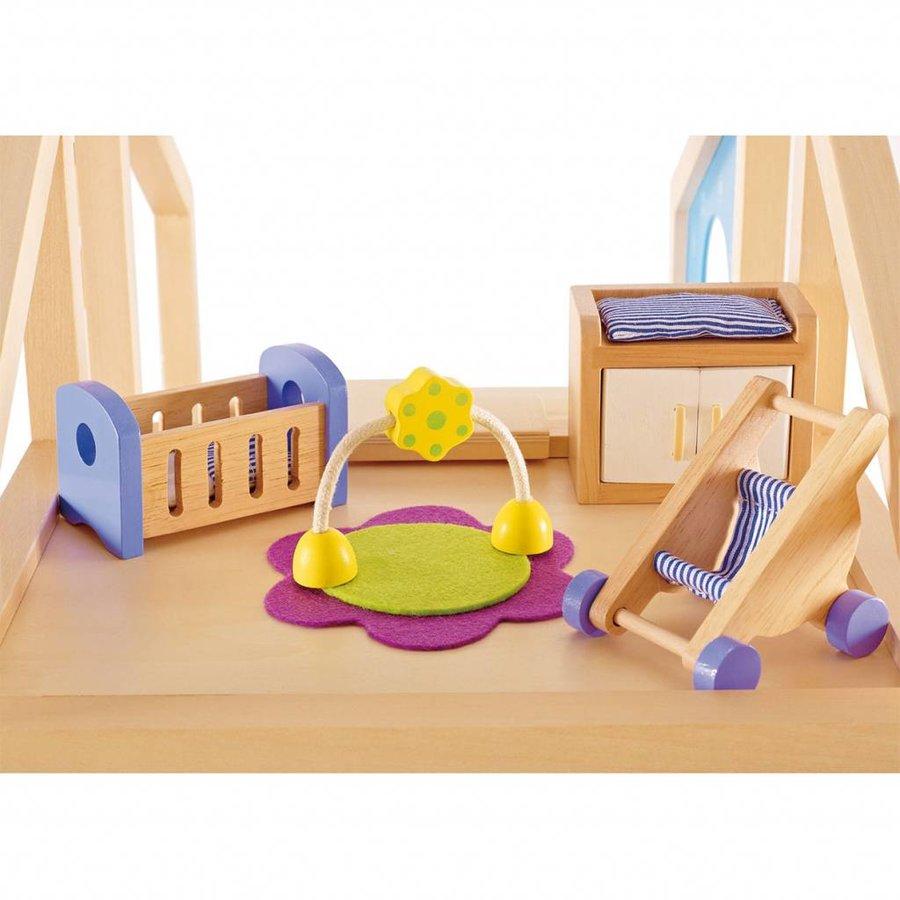 Hape Poppenhuis Babykamer-2