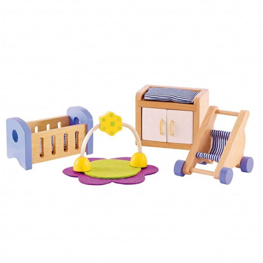 Hape Poppenhuis Babykamer-3
