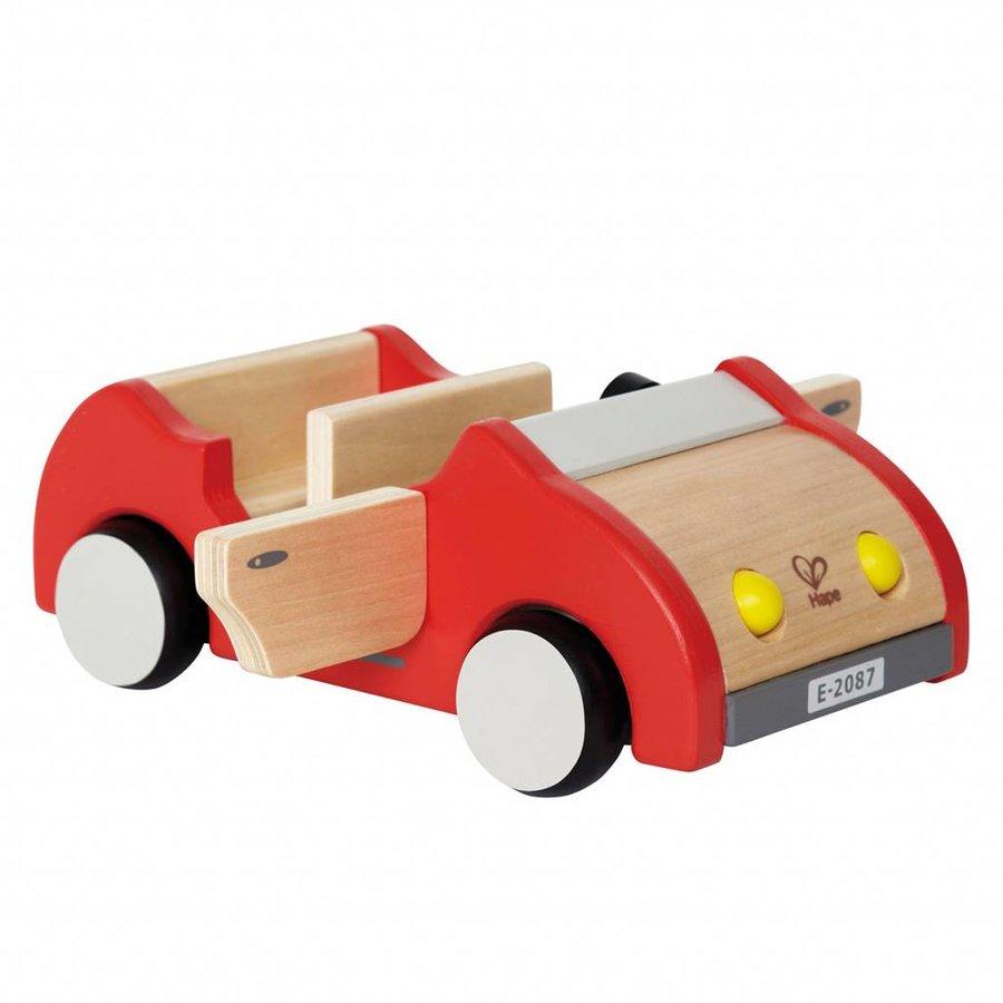 Hape Poppenhuis Auto-1