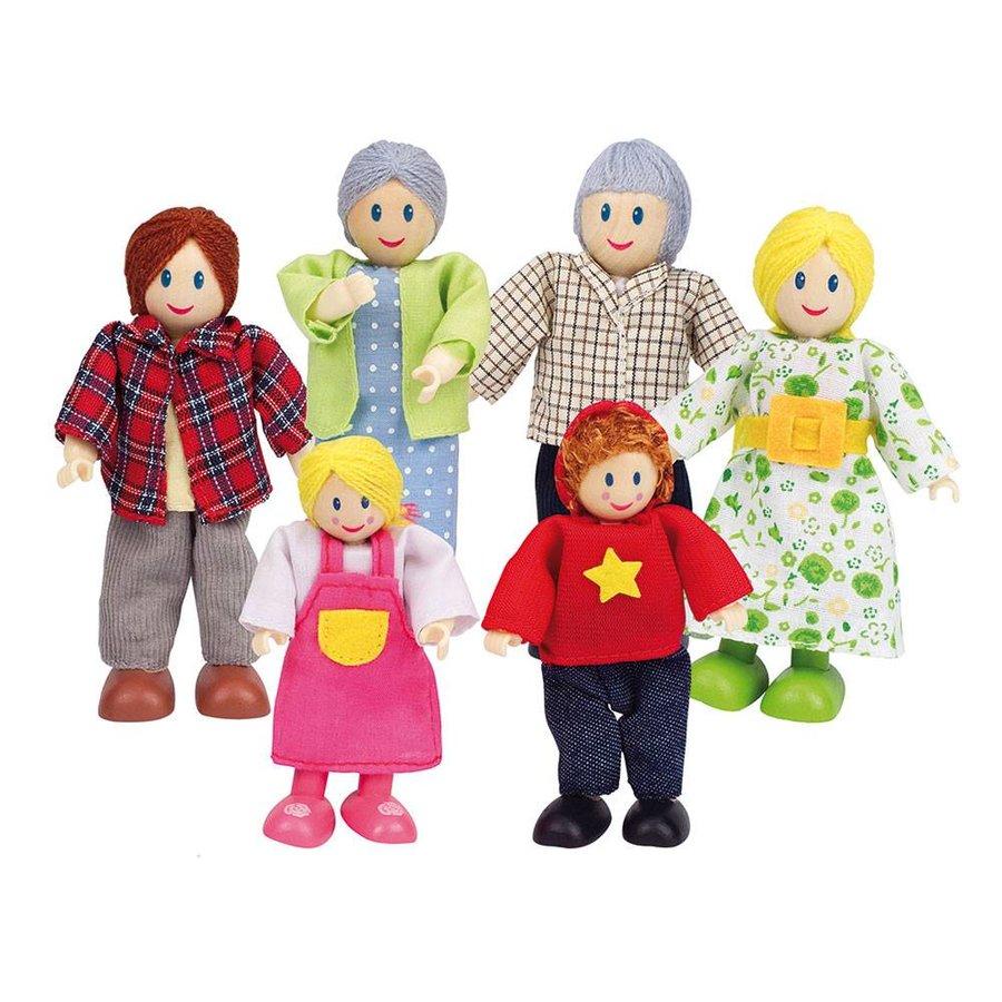 Hape Poppenhuis Familie-1