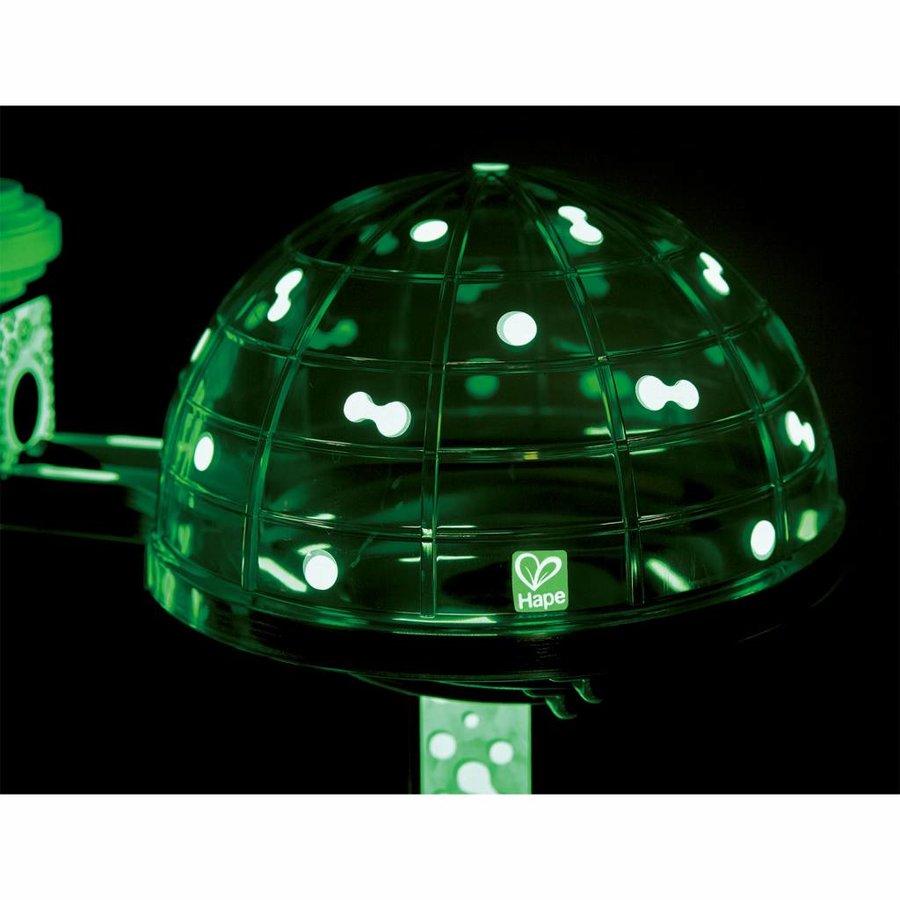 Quadrilla Houten Knikkerbaan - Glow in the Dark Ruimtestad-1