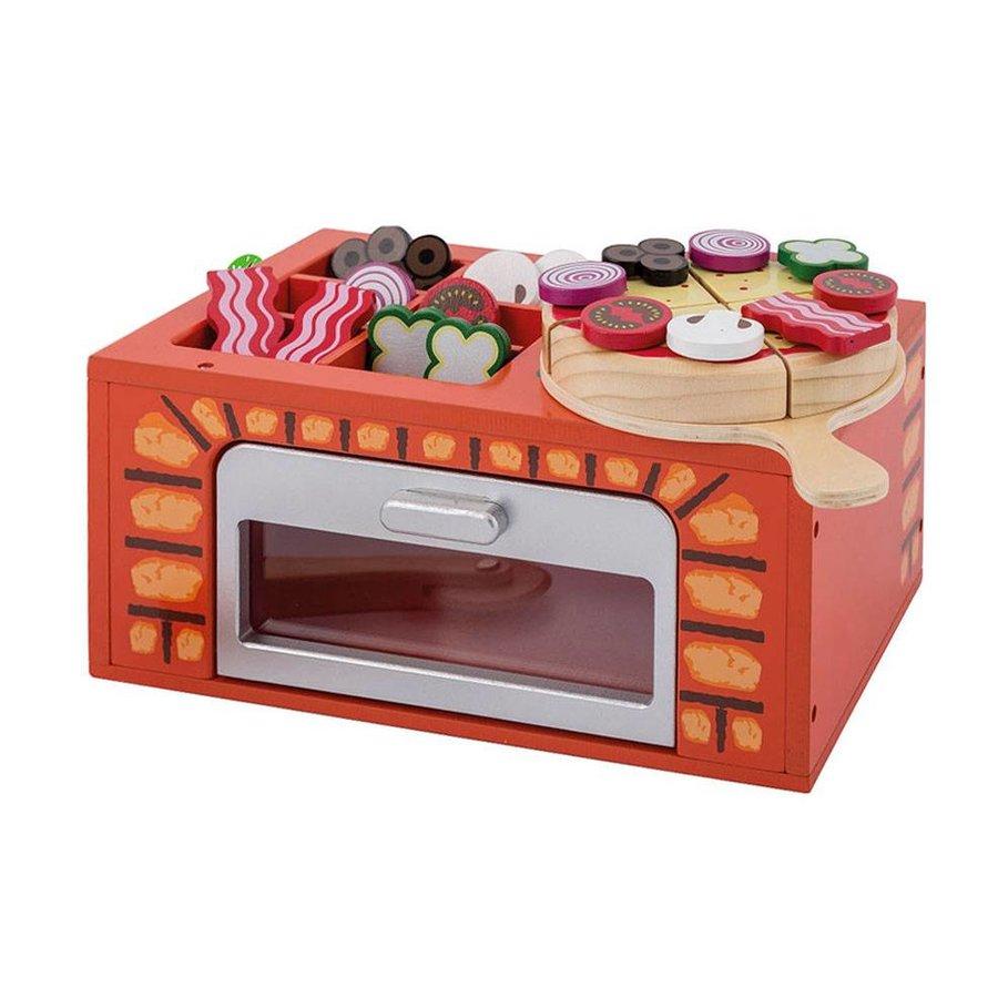 Joueco Houten Pizza Oven-1