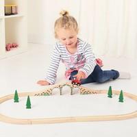 thumb-Houten Rails - Brug Met 3 Bogen-3