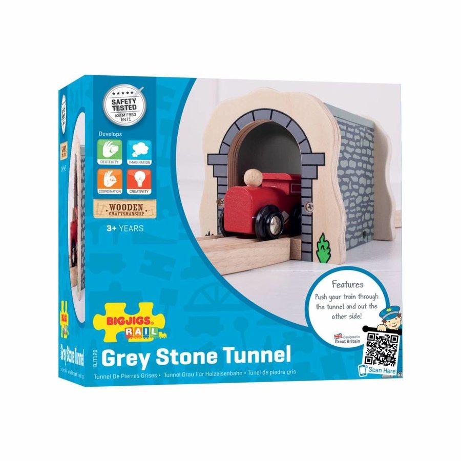 Houten Rails - Grijze Tunnel-2