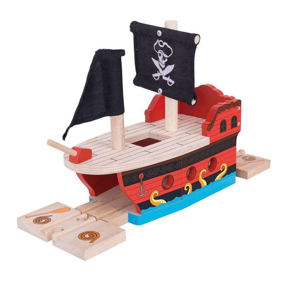 Houten Rails - Piratenschip-1