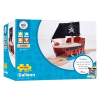 thumb-Houten Rails - Piratenschip-2