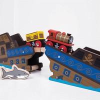 thumb-Houten Rails - Brug Wrakstuk-3