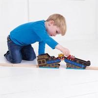 thumb-Houten Rails - Brug Wrakstuk-4