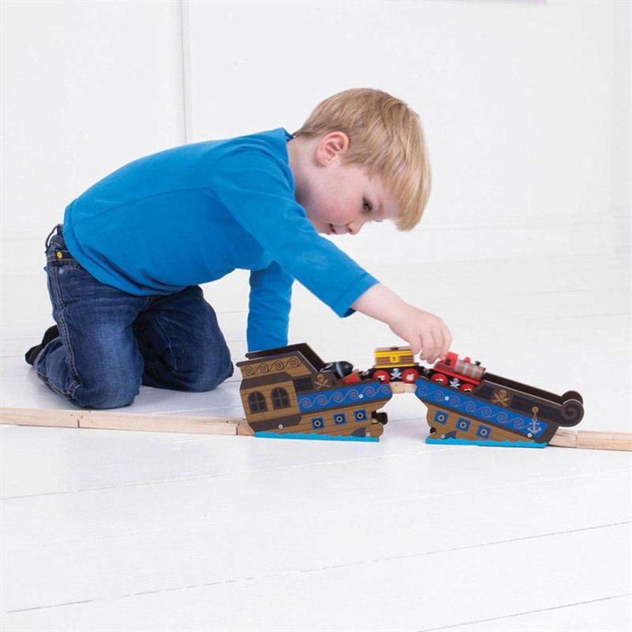Houten Rails - Brug Wrakstuk-4