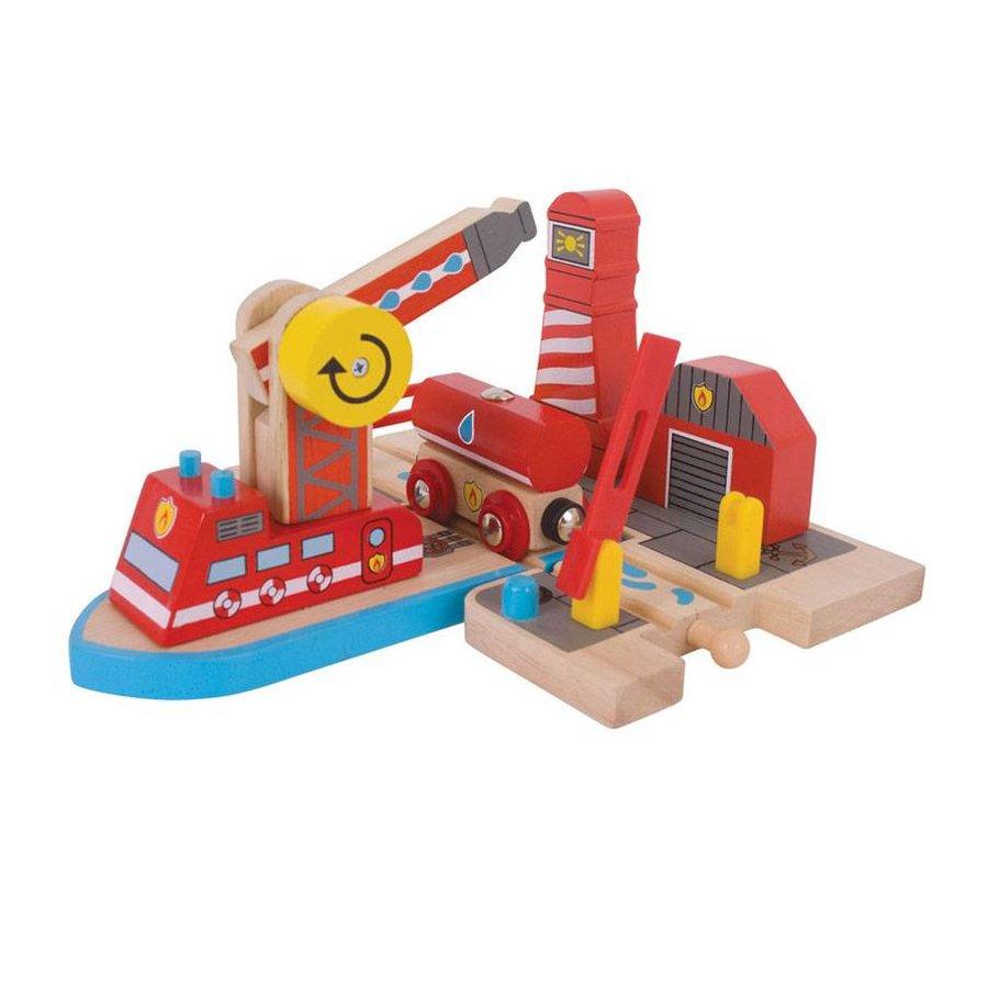 Houten Rails - Brandweerhaven-1