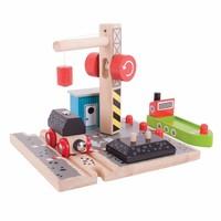 thumb-Houten Rails - Laadstation Steenkool-1