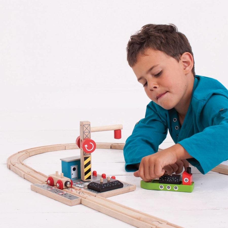 Houten Rails - Laadstation Steenkool-3