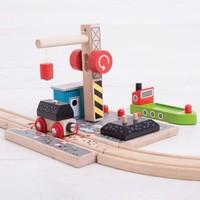 thumb-Houten Rails - Laadstation Steenkool-5