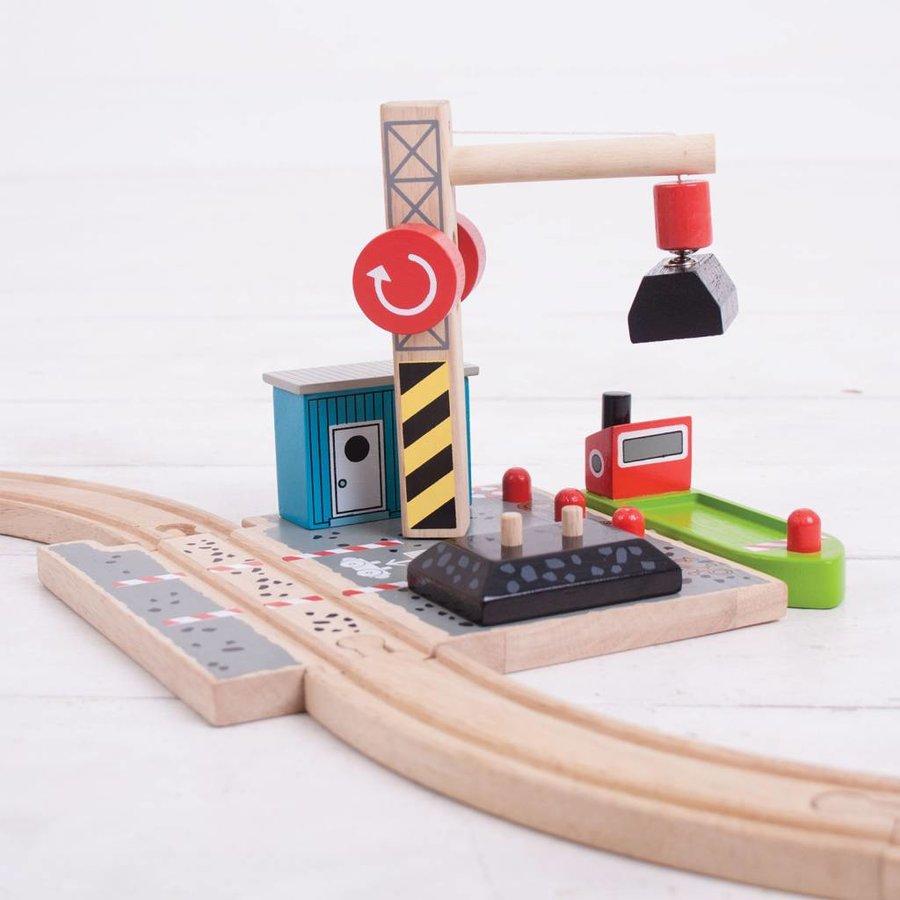 Houten Rails - Laadstation Steenkool-6