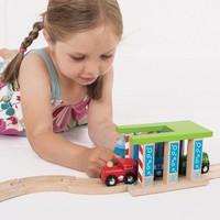thumb-Houten Rails - Wasstraat voor Treinen-3
