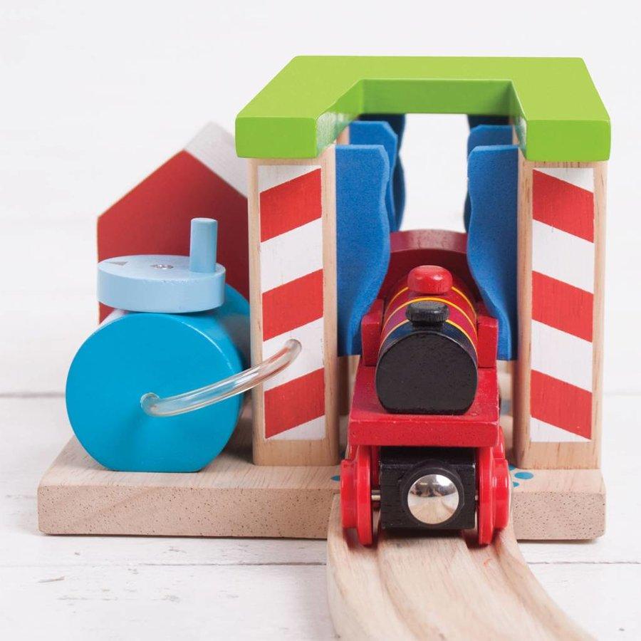 Houten Rails - Wasstraat voor Treinen-4