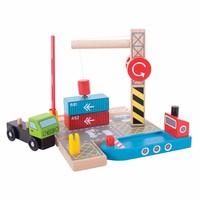 thumb-Houten Rails - Container Scheepswerf-1