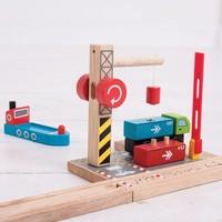 thumb-Houten Rails - Container Scheepswerf-5