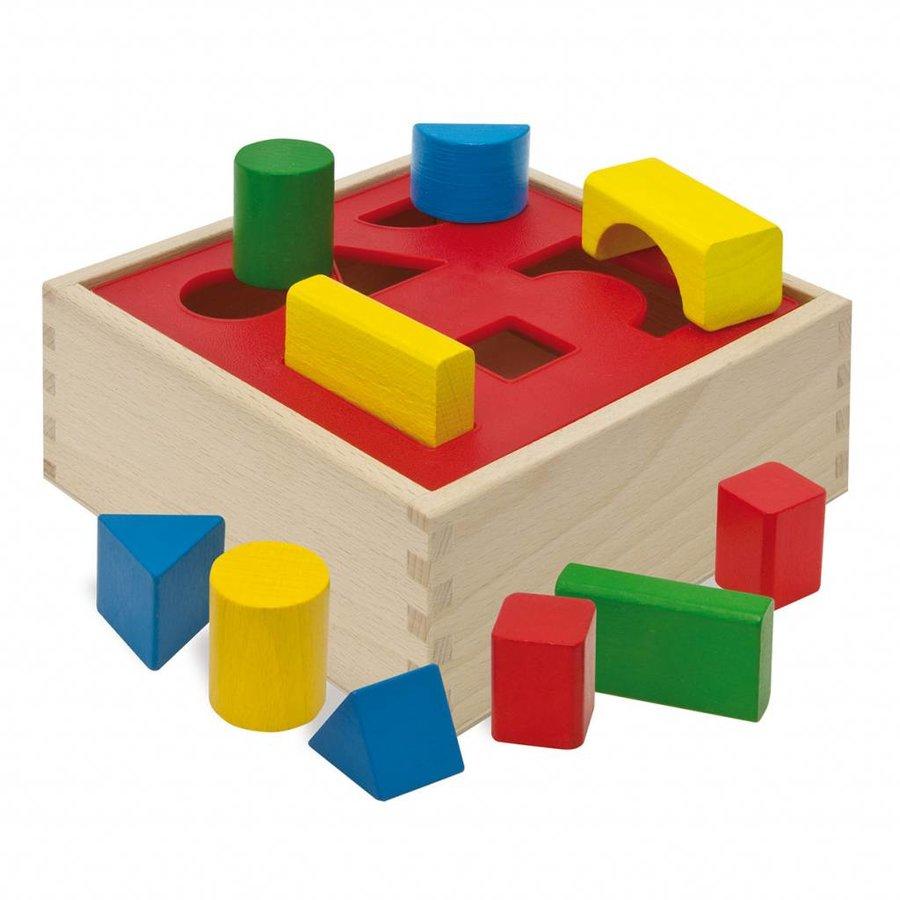 Eichhorn Houten Sorteer Box-1