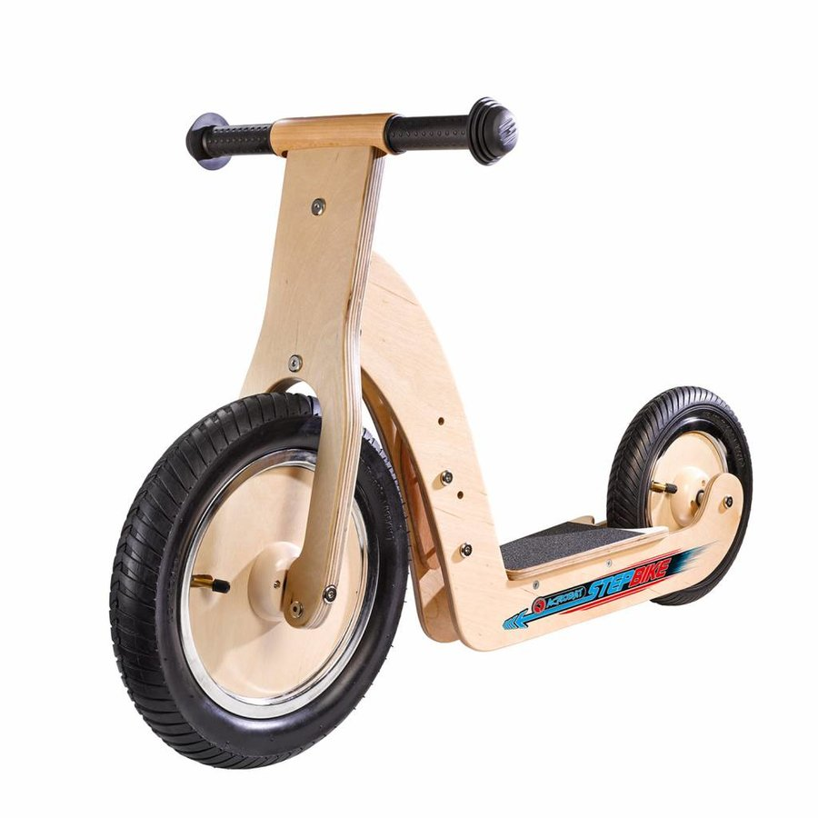 Acrobat Houten StepBike, 2in1-2