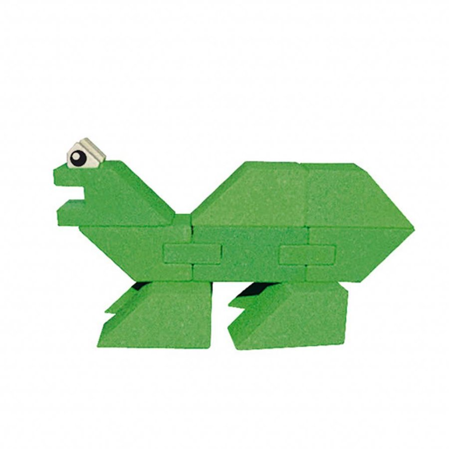 Houten Stapel Dinosaurus, 23dlg.-3