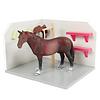 Kids Globe Kids Globe Paarden Wasbox Hout 1:24
