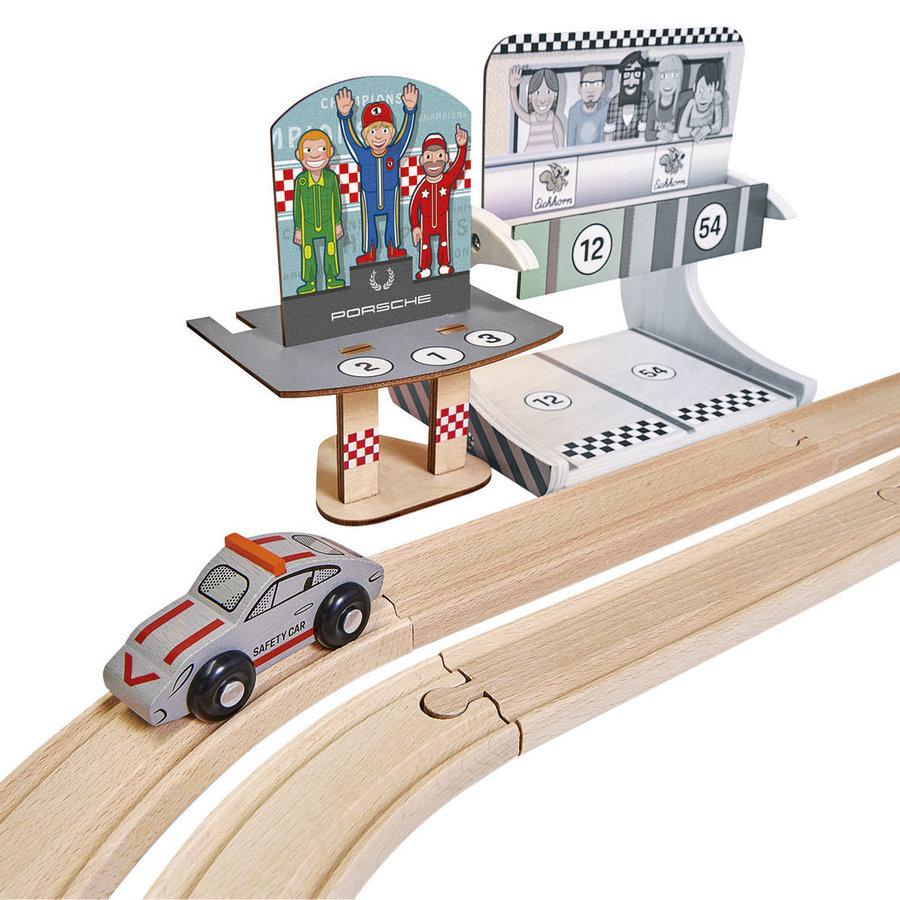 Eichhorn Houten Porsche Race Set, 14dlg.-3