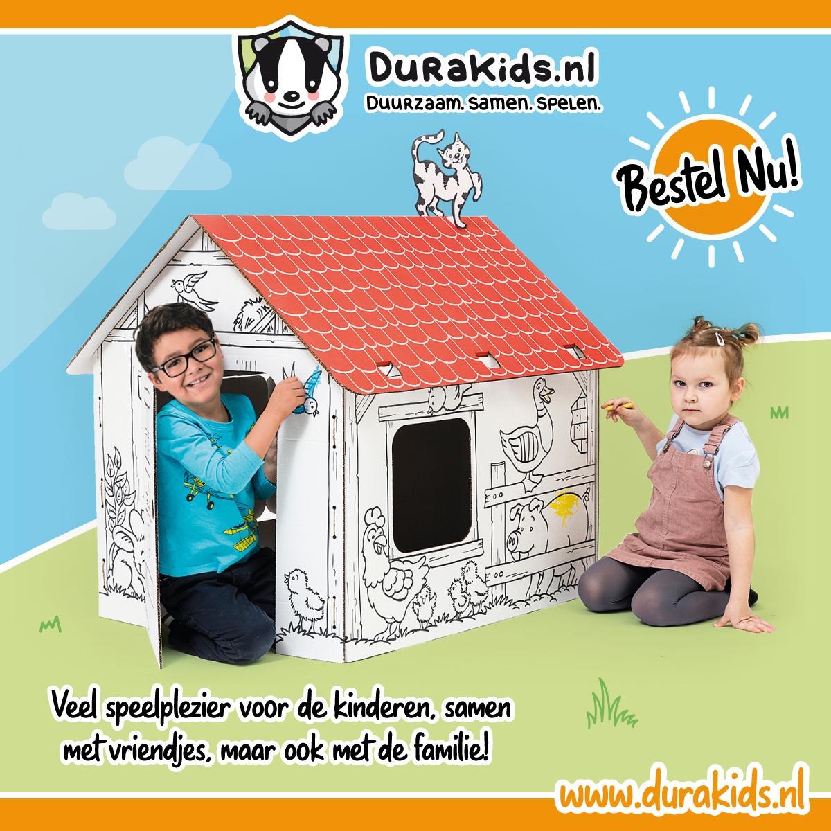 Kartonnen speelgoed is dé nieuwste trend in duurzaam geproduceerd speelgoed!