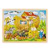 Goki  Houten Puzzel Ark van Noach, 96st.