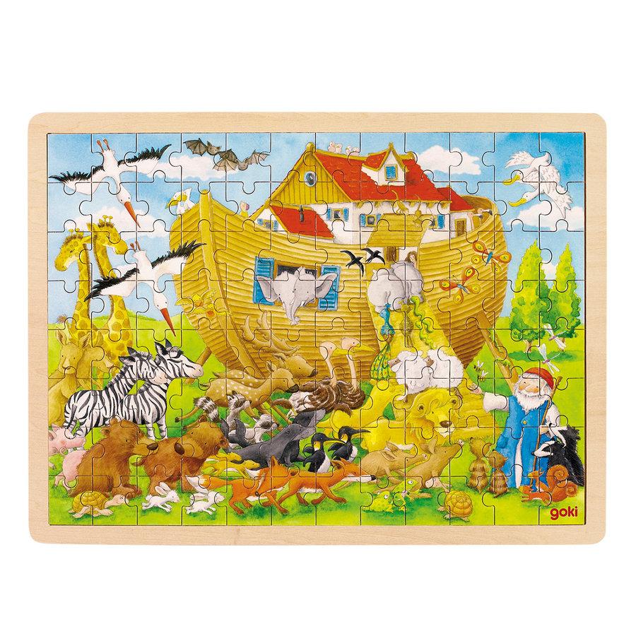 Houten Puzzel Ark van Noach, 96st.-1
