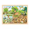 Goki  Puzzel Natuur, 96st.