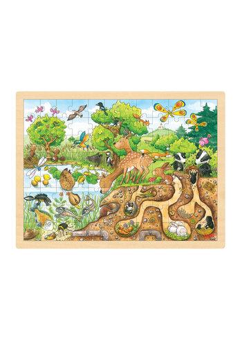 Puzzel Natuur, 96st.