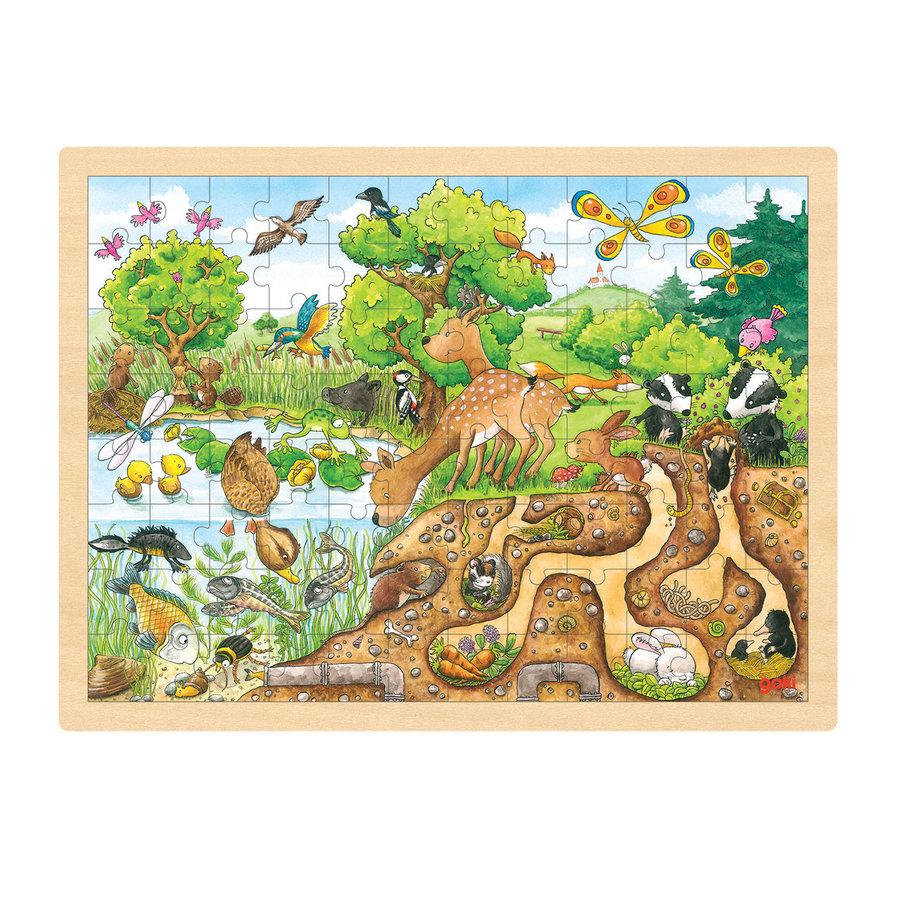 Puzzel Natuur, 96st.-1