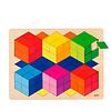 Goki  Houten 3D Puzzel - Kleur