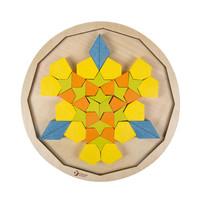thumb-Classic World Houten Mandala Puzzel, 72st.-3