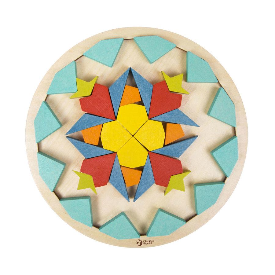 Classic World Houten Mandala Puzzel, 72st.-4