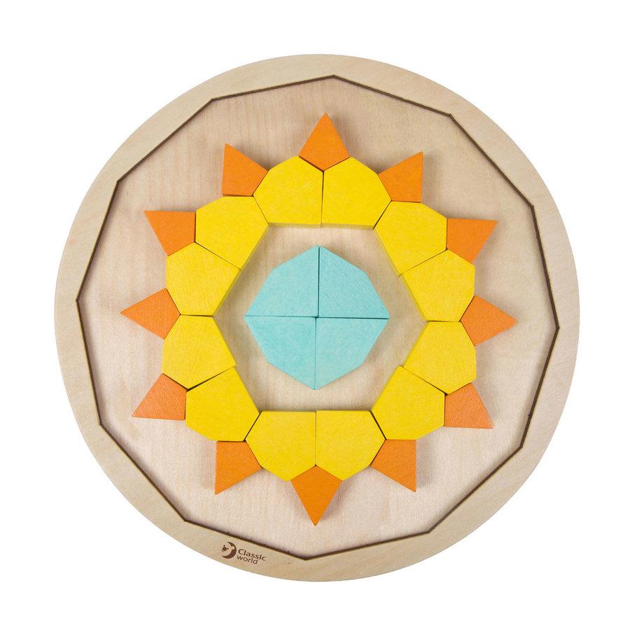 Classic World Houten Mandala Puzzel, 72st.-5
