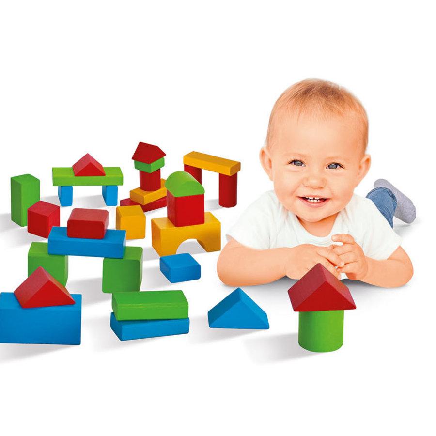 Eichhorn Baby Houten Blokken XXL, 50dlg.-6